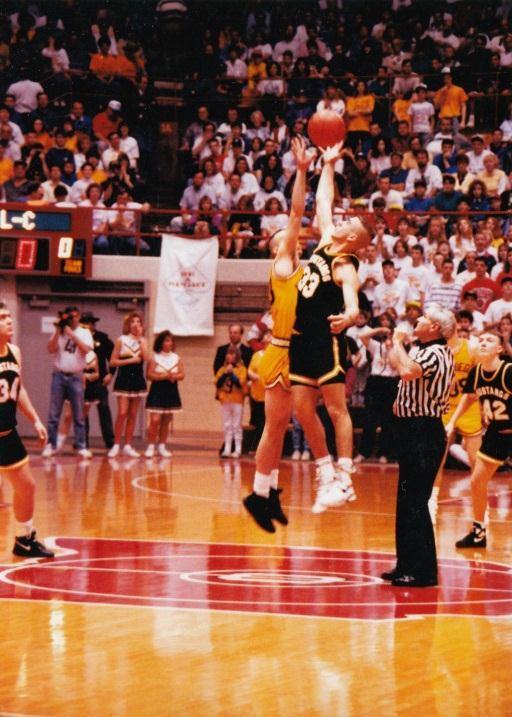 the 1993 State Tournament vs. New Riegel.