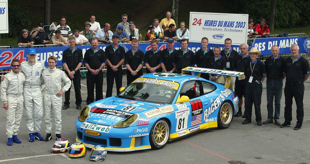 THE RACERS GROUP LE MANS LEGACY In 2002, a little known privately