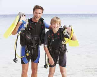 Discover Scuba Diving is a quick and easy introduction to what it takes to explore the underwater world.