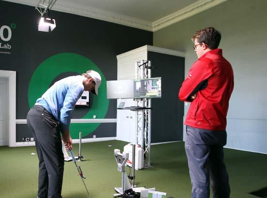 About the Lab the ultimate indoor putting experience for both teaching