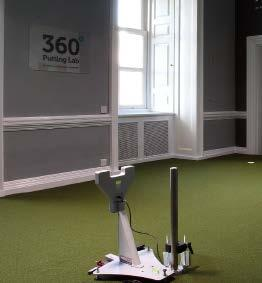 The 360 Putting Lab was founded in February 2017. It offers the ultimate indoor putting experience for both teaching and custom fitting set within the historic mansion of Moor Park Golf Club.