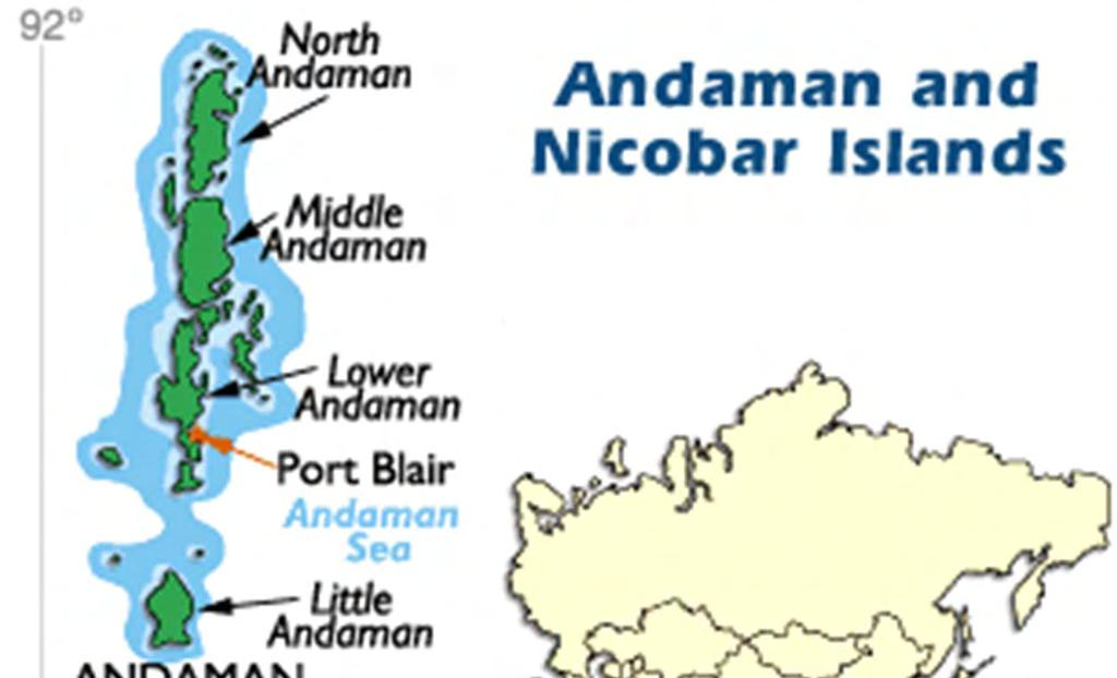 The Andaman Islands are a remote, nearly forgotten part of India
