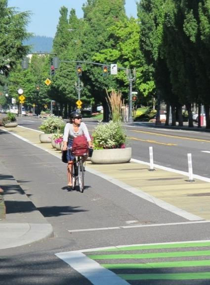 Findings: Potential to Attract New Riders Protected bike lanes could increase bicycling among people who do not currently ride regularly for transportation.