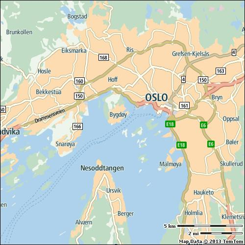 Oslo 23% of city compared to continent 29/59 on highways 19% on non-highways 30% 41 min 93 h Most congested specific day