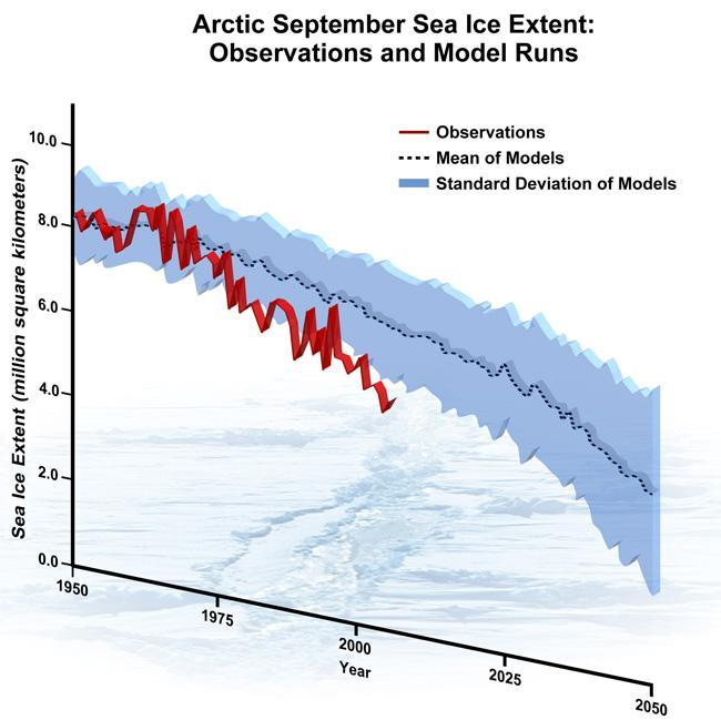 Loss of Arctic Sea Ice Ecological