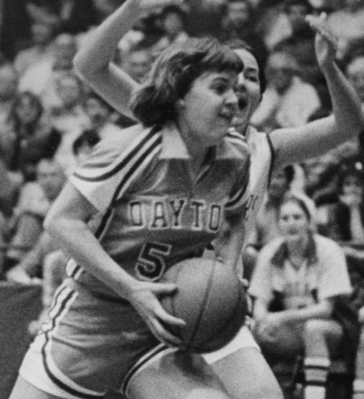 Carol (Lammers) Lafountain University of Dayton (1977-81) Lafountain is the second-leading scorer in Dayton history, amassing 2,151 points in a four-year career.