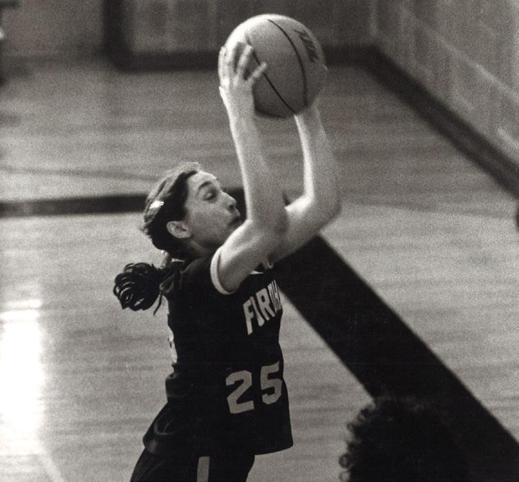 As a junior, she led Fordham to a 27-7 record and the AIAW Eastern Regional Championship.