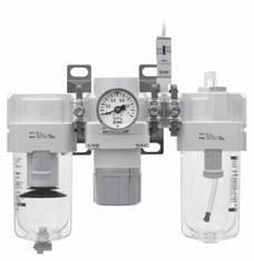 Check valve compact integrated pressure switch can be easily installed and facilitates the pressure detection of the line.