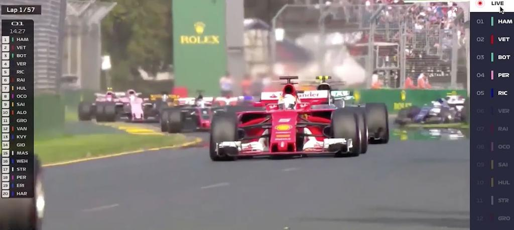 LIVE COMMENTARY On-demand streams of each race with