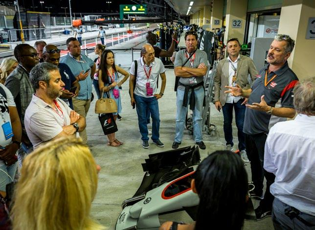 POSSIBLE TOUR STOPS PIRELLI TYRE CENTER The Pirelli team will guide you through the fascinating technology of F1 tyres FIA