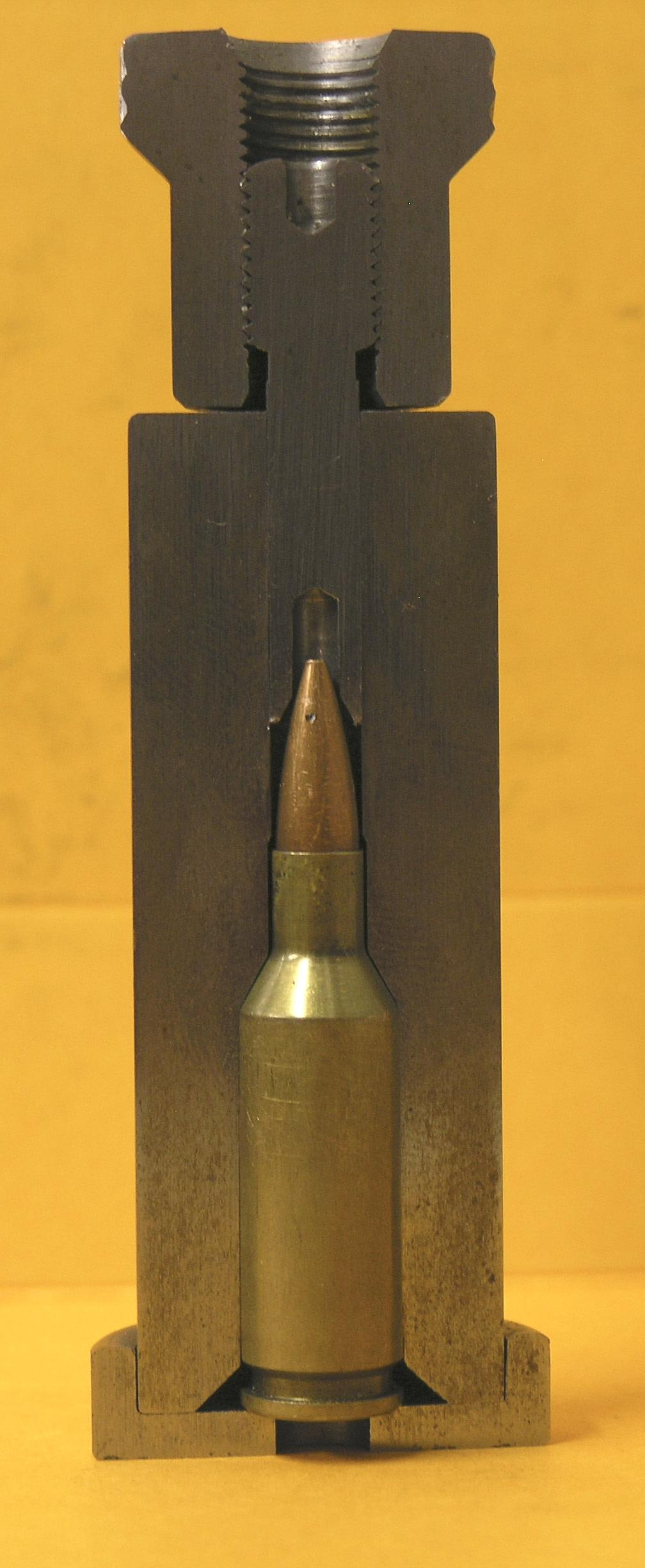 For Accurate Uniform Handloads Straight Line Bullet Seating 404 Pioneer Ave or P.O. Box 324 Cashmere, WA.
