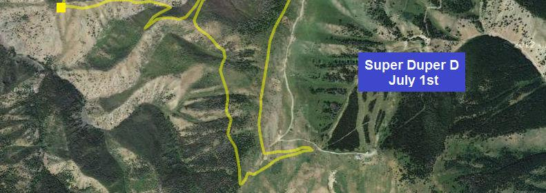 Due to the Elk calving restrictions in this area no practice will be allowed prior to the morning of July 1 st.