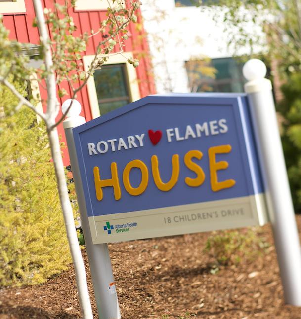Rotary Flames House The Flames Foundation Life is proud to