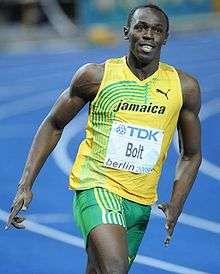 Question 1 Olympic Champion Usain Bolt can