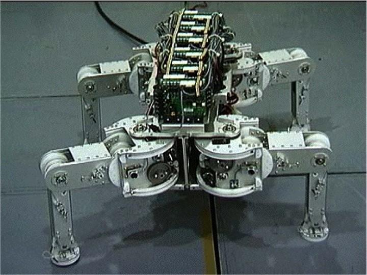 TITAN-VIII a Quadruped Developed by Hirose at