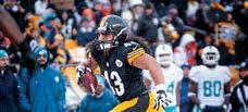 REVIEW RECORDS STEELERS HISTORY 2013 IN REVIEW 2014 PLAYERS FOOTBALL STAFF MEDIA INFORMATION Game 13 MIAMI 34 PITTSBURGH 28 DECEMEBER 8, 2013 HEINZ FIELD (52,489) PITTSBURGH The last second attempt