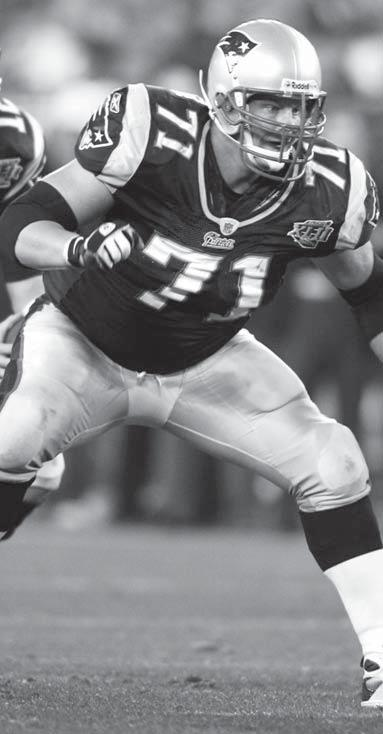 The New England Patriots Russ Hochstein New England Patriots Offensive Guard Three Super Bowl appearances
