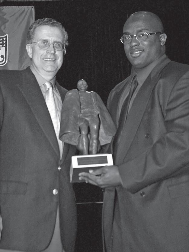 Will Shields, a 12-time Pro Bowl lineman for the Kansas City Chiefs, was named the NFL Man of the Year in 2003 and is widely expected to be a future Hall of Famer
