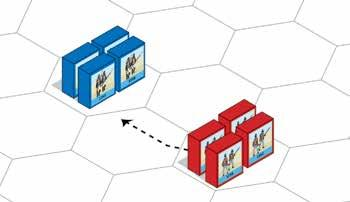Command & Colors Napoleonics 11 3. Defending Infantry Form Square: An Infantry Square is a defensive formation used by infantry units to counter an enemy cavalry attack.
