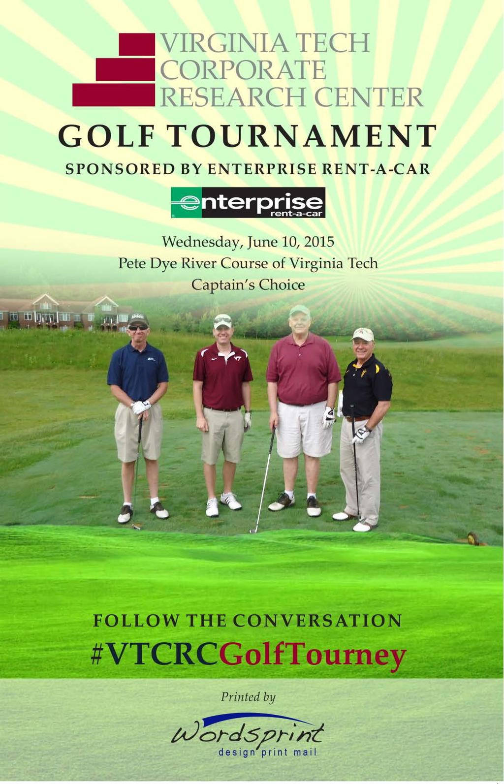 2015 Golf Program Cover June 8, 2016, Pete Dye River Course (Approximately 26-34 teams of four play in morning and afternoon