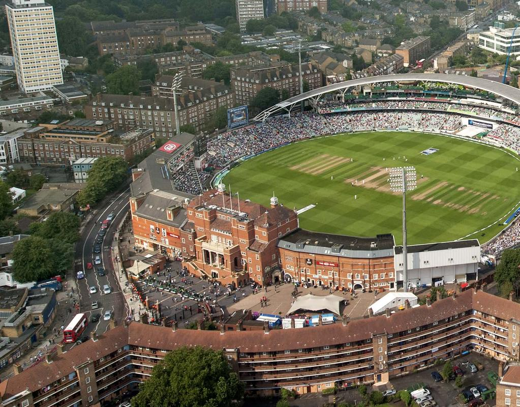 The Kia Oval One of the world s most iconic sporting venues.