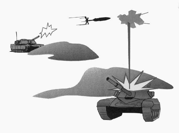 ing Center have proven just how difficult it is to coordinate this kind of defensive battle. Smart tank munitions promise to alter this scenario significantly.