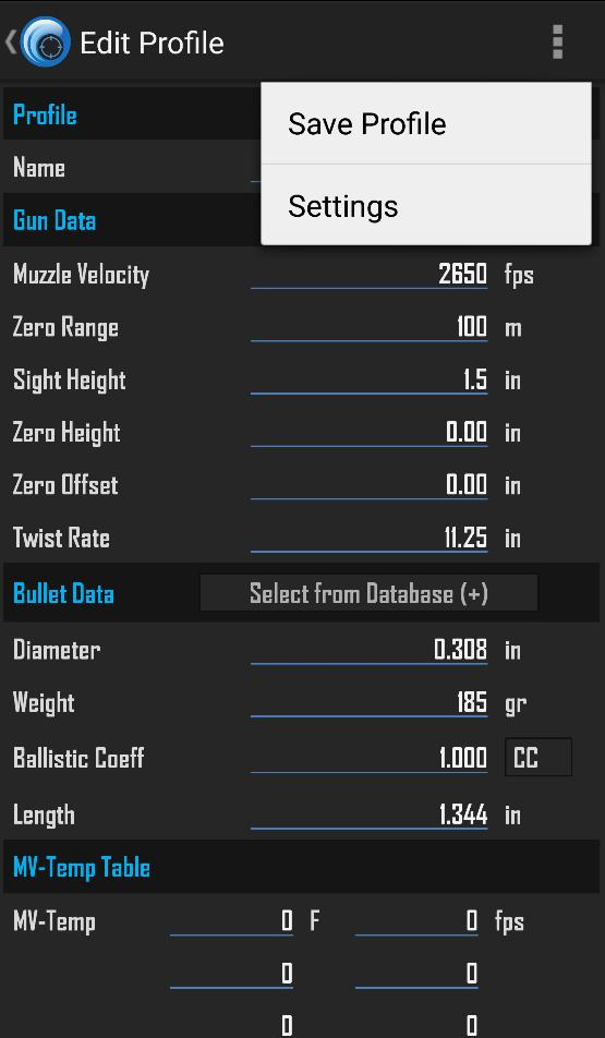 If you create the weapon then choose a bullet, your weapon profile will be reset.