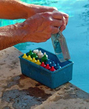 Pool Testing Kits There are many types of test kits commercially available. Some measure FAC and ph, but nothing else.