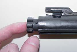 There is no need to remove the firing pin spring (BC-3) from the firing pin. 7.Lift out the cam pin (BC-4).
