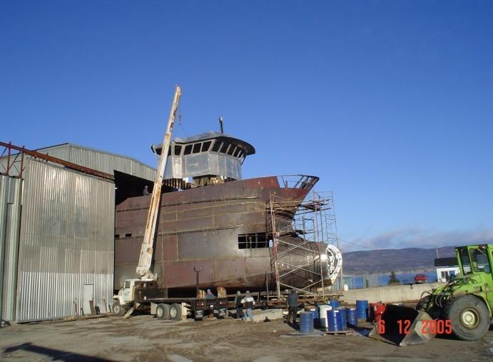 Vessel Modification and