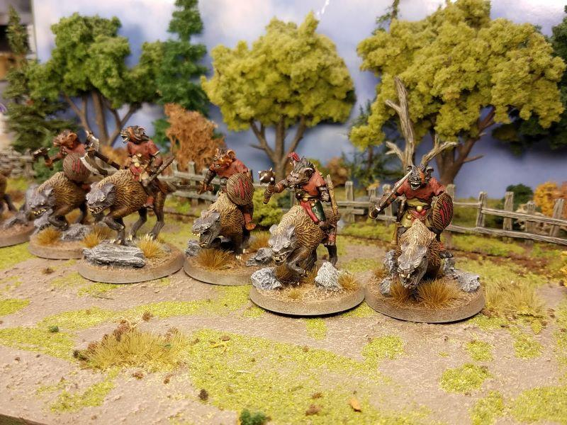 HellRiders Gnoll Regular Light Cavalry +10 18 +9 19 +8 1d6 Cavalry: This unit can flank other units.