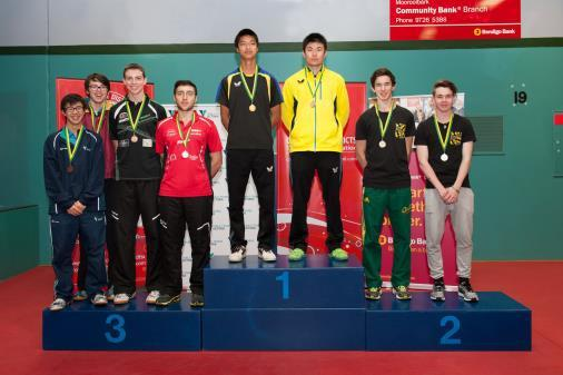 (Tas) & Dominic Huang / Jake Duffy (Qld) U/21 Womens Doubles