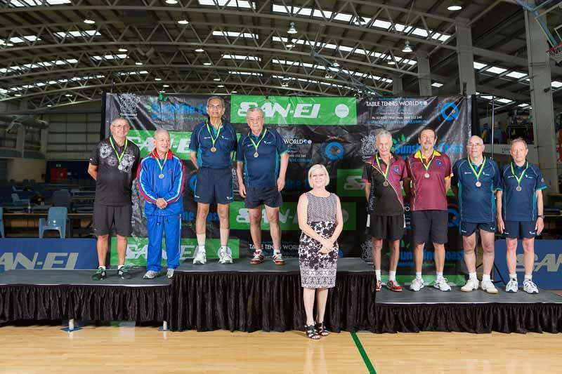 O/65 Mixed Doubles Silver Ivana Trnka / Thomas Samuelsson (Qld) Bronze Mick Wright / Val