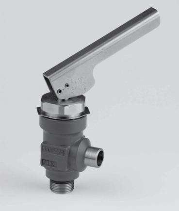 Introduction QDV is a quick closing oil drain valve, designed particularly for draining oil from systems containing refrigerant (ammonia) under pressure.