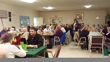 Edgewood Senior Center On Friday the Center had a Memorial Service for Al Arnold who