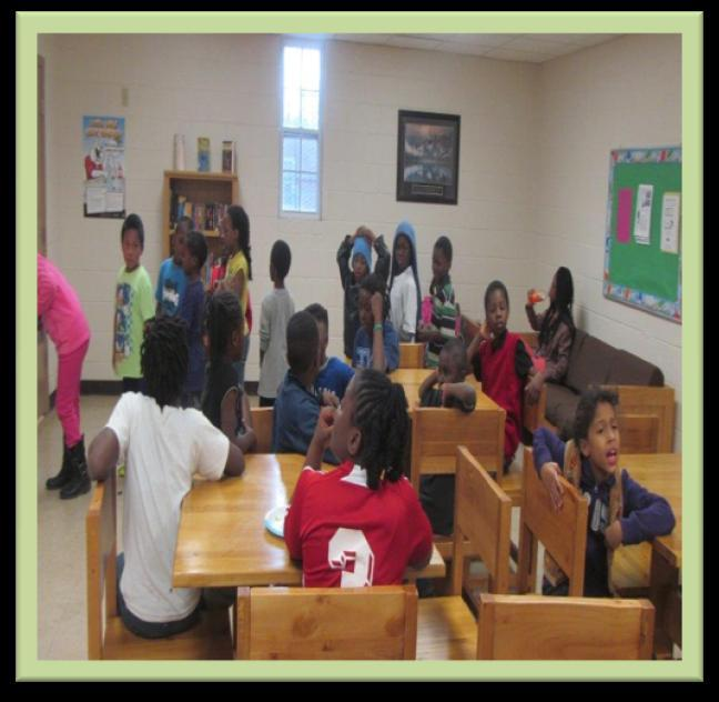 Boxwood Recreation Center In the month of February kids from the