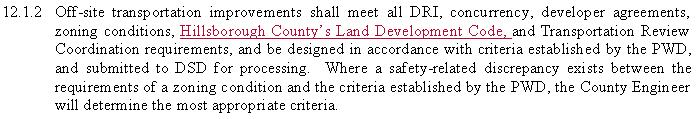 Request all underground existing utilities must be plotted on all cross section. County to add statement to 12