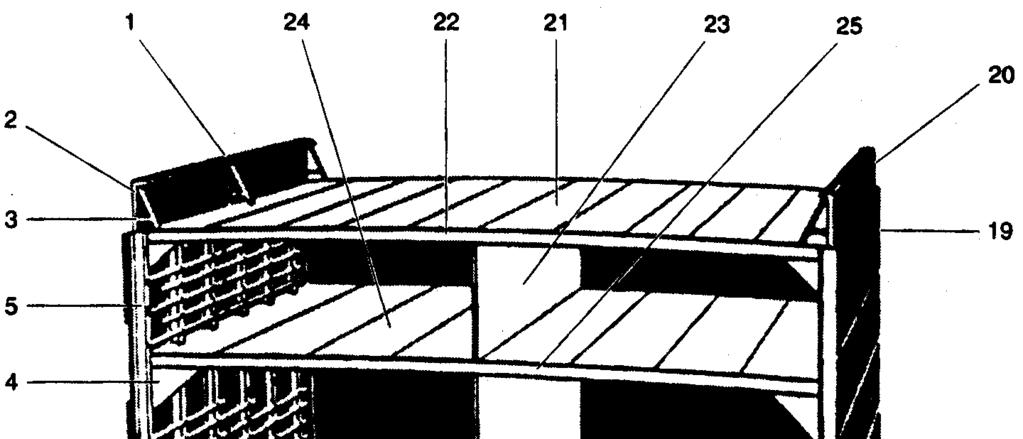 Mid section of a cargo ship The decks are supported by transverse and longitudinal members called beams and girders, used as connections and