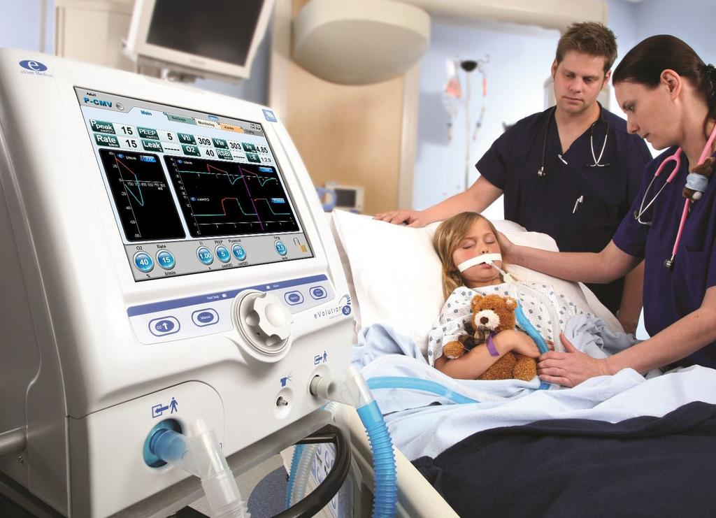 When it comes to ease of use and versatility, nothing can compare to event Medical s ventilators.
