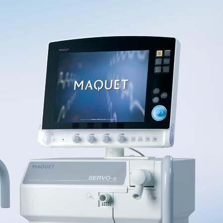 Critical Care SERVO-s 3 SERVO-s SIMPLY MAKES SENSE MAQUET THE GOLD STANDARD Leading the way: MAQUET is a premier international provider of medical products for intensive care and operating rooms.