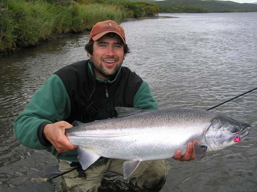Are all the big salmon are in Alaska? Not necessarily.