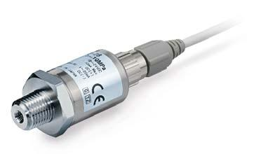 parts in contact with fluid Pressure sensor Al2O3 A (Alumina 96%)