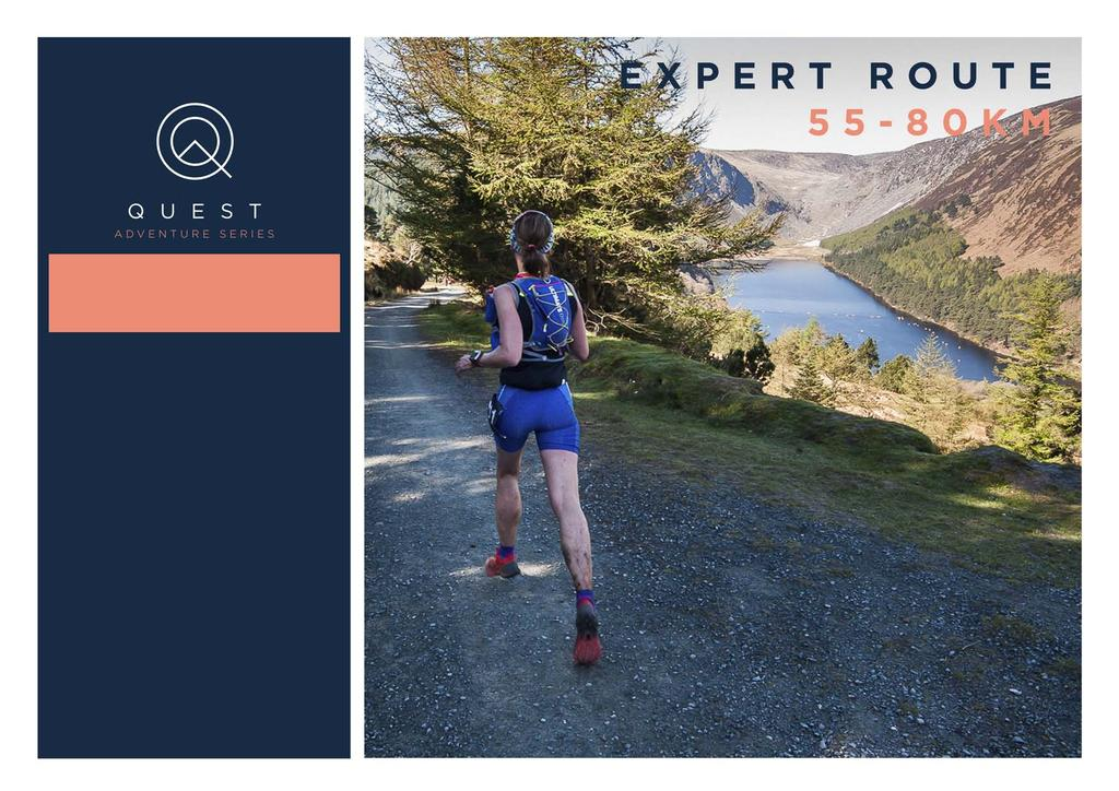 QUEST TRAINING PLAN 12-WEEK TRAINING PLAN EXPERT ROUTE 55-80K Couch to Quest Training Plans have been prepared by Bernard Smyth of Ultimate