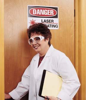 Laser Safety Goggles Protect eyes from intense concentrations of