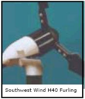 sustained for a long time. Furling Speed Small wind turbines cannot actively slow themselves down by actively changing blade pitches or using brakes.