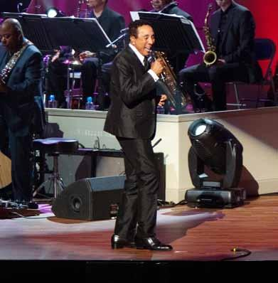THE LIBRARY OF CONGRESS GERSHWIN PRIZE FOR POPULAR SONG Friday, February 10 @ 8PM Enjoy an all-star tribute to Smokey Robinson, the