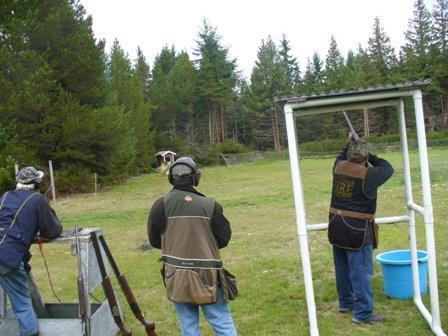 Bob designated that this Sporting Clays was to be all pairs.