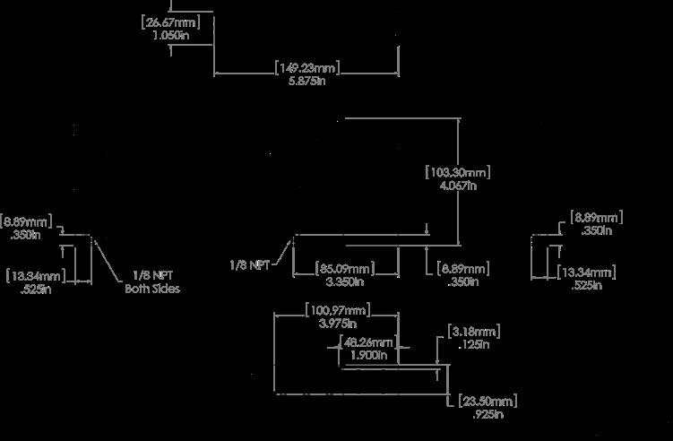 EPR-3000 Dimensional Drawing How it Works Two valve