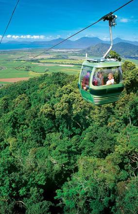 Discover Kuranda The Village in the Rainforest The picturesque mountain retreat of Kuranda Village is a vibrant little town surrounded by World Heritage Rainforest.