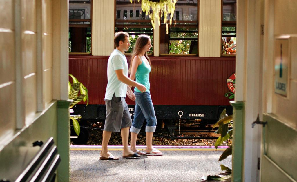 Take one of Australia s unique rail journeys and discover the living